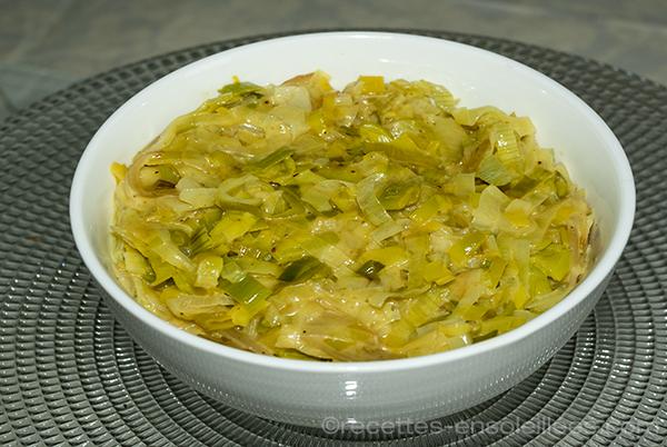 Fondue De Poireaux Curry Et Lait De Coco Recettes Ensoleillees