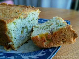 cake feta épinard régime cétogène